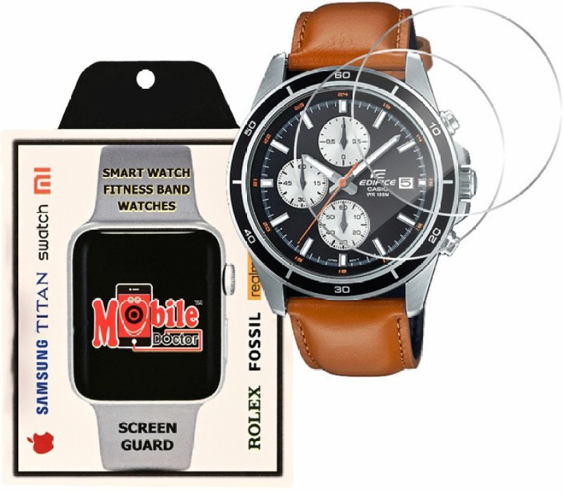 MOBILE DOCTOR Screen Guard for Casio | Edifice | STANDARD CHRONOGRAPH | EFR-526L-1BV(Pack of 3)