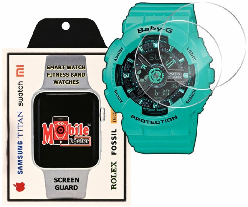 MOBILE DOCTOR Screen Guard for Casio | Baby-G | G-Shock Tandem Series | BA-111-3A(Pack of 3)