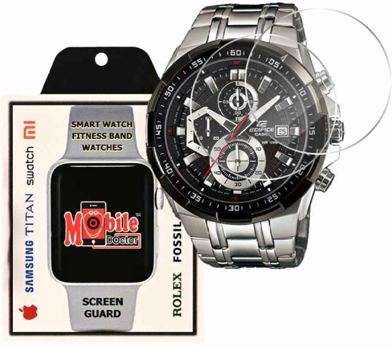 MOBILE DOCTOR Screen Guard for Casio | Edifice | STANDARD CHRONOGRAPH |EFR-539D-1AV(Pack of 3)