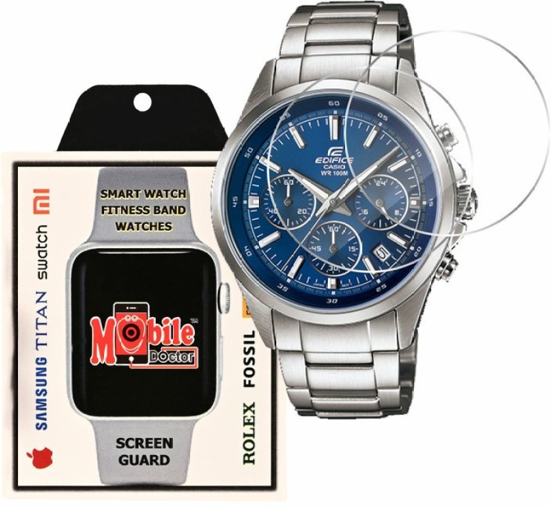 MOBILE DOCTOR Screen Guard for Casio | Edifice | STANDARD CHRONOGRAPH | EFR-527D-7AV(Pack of 3)