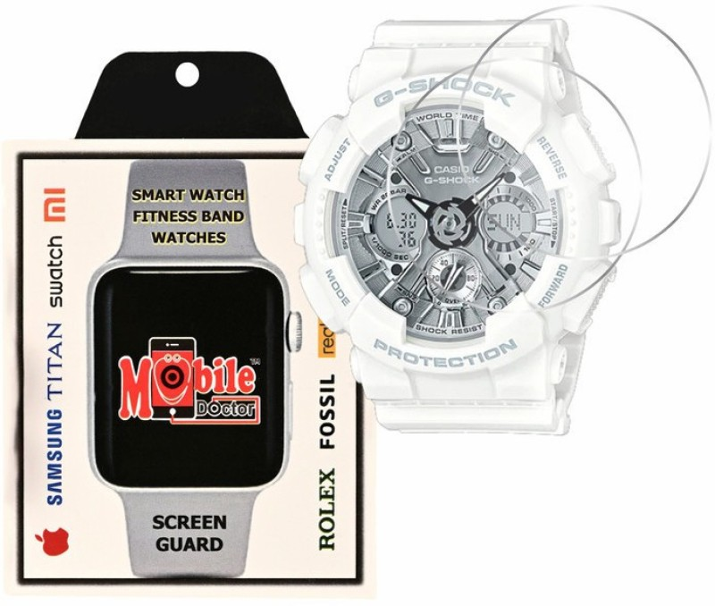 MOBILE DOCTOR Screen Guard for Casio | G-Shock | S Series | GMA-S120MF-7A1(Pack of 3)