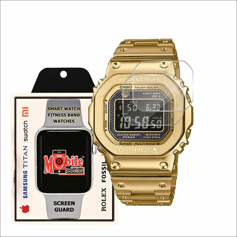 MOBILE DOCTOR Screen Guard for Casio | G-Shock | Origin | GMW-B5000GD-9(Pack of 3)