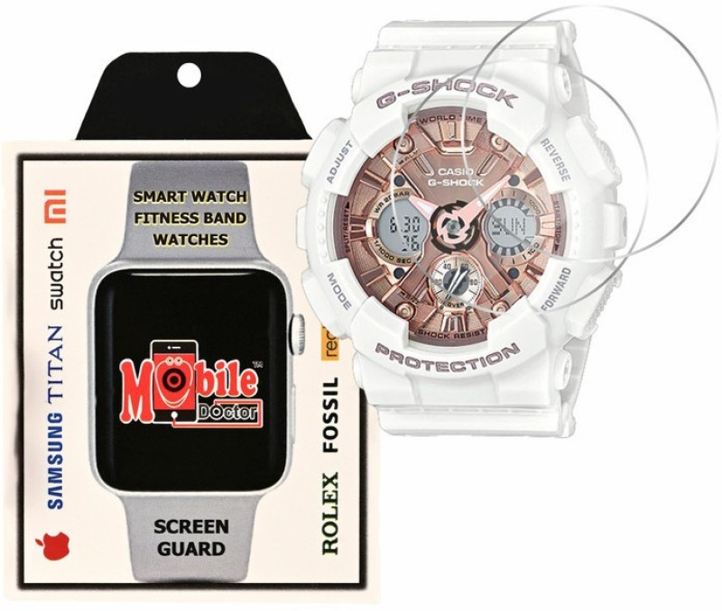 MOBILE DOCTOR Screen Guard for Casio | G-Shock | S Series | GMA-S120MF-7A2(Pack of 3)