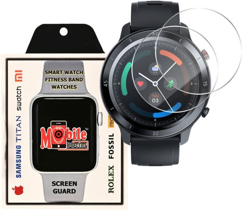 MOBILE DOCTOR Screen Guard for TIC WATCH GTX(Pack of 3)