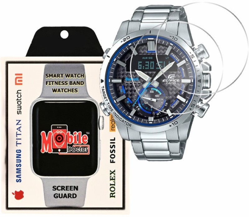 MOBILE DOCTOR Screen Guard for Casio | Edifice | Smartphone Link |ECB-800D-1A(Pack of 3)