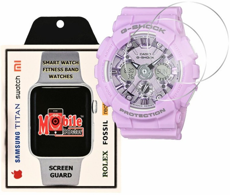 MOBILE DOCTOR Screen Guard for Casio | G-Shock | S Series | GMA-S120DP-6A(Pack of 3)