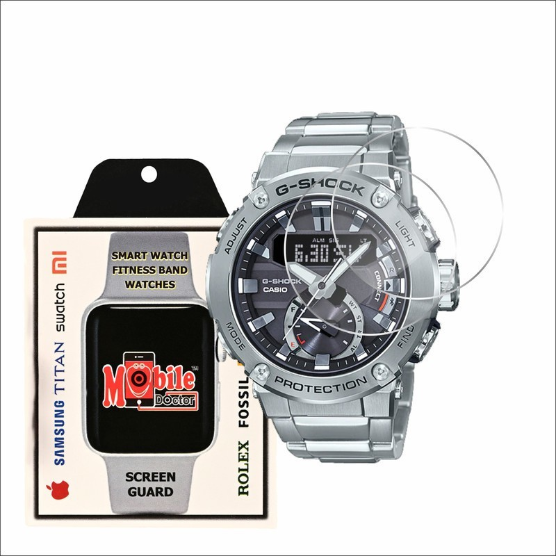 MOBILE DOCTOR Screen Guard for Casio | G-Shock | G-STEEL | GST-B200D-1A(Pack of 3)