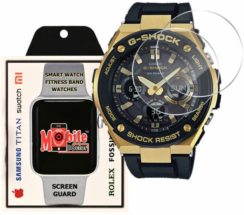 MOBILE DOCTOR Screen Guard for Casio | G-Shock | G-STEEL | GST-S100G-1A(Pack of 3)