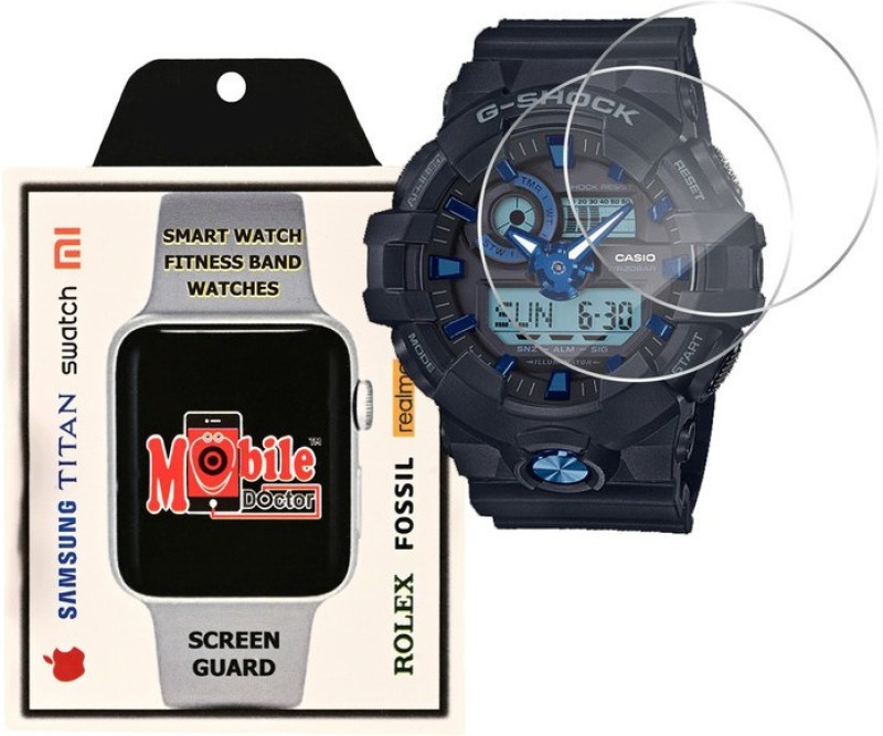 MOBILE DOCTOR Screen Guard for Casio | G-Shock | Special Color Model | GA-710B-1A2(Pack of 3)