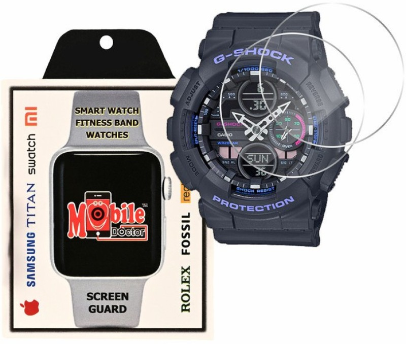 MOBILE DOCTOR Screen Guard for Casio | G-Shock | S Series | GMA-S140-8A(Pack of 3)