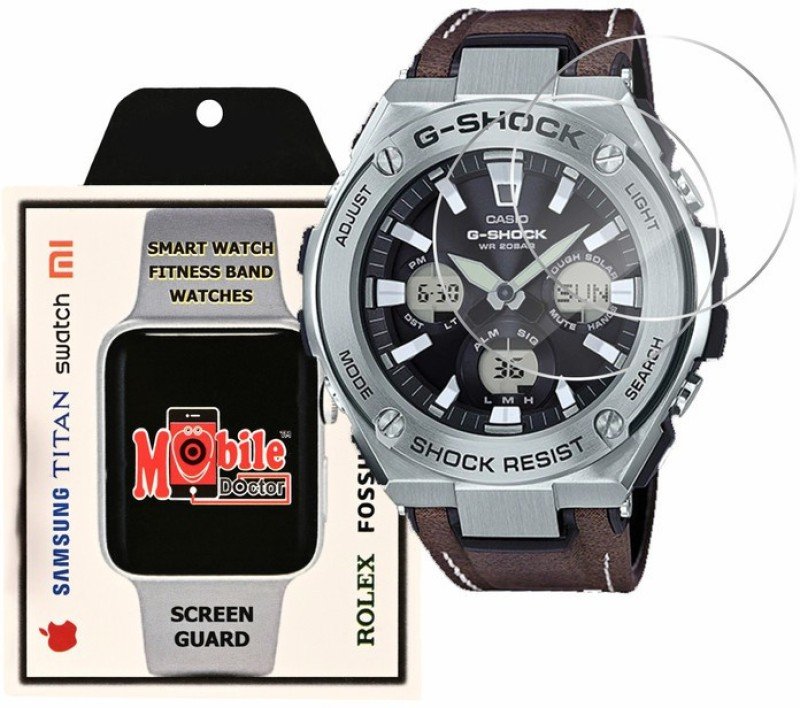MOBILE DOCTOR Screen Guard for Casio | G-Shock | G-STEEL | GST-S130L-1A(Pack of 3)