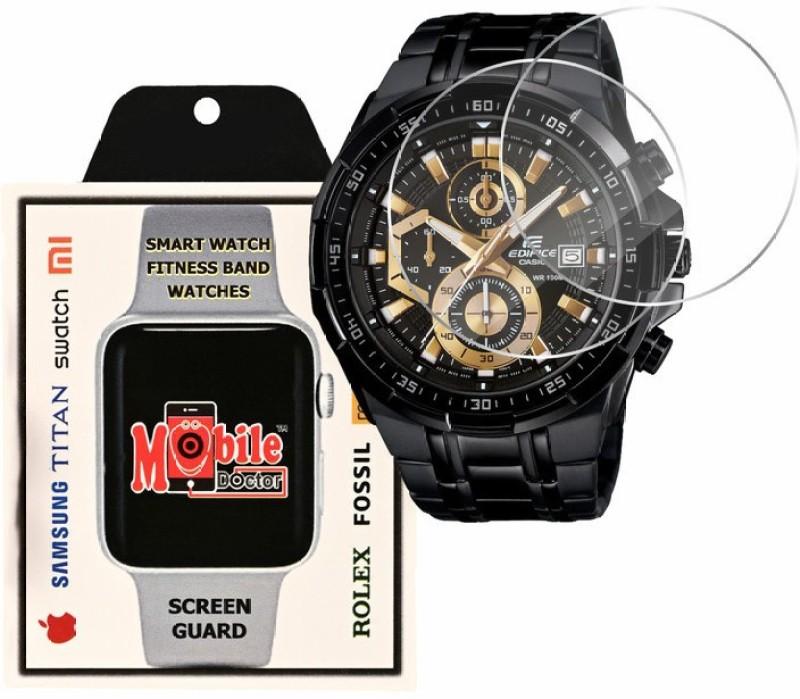 MOBILE DOCTOR Screen Guard for Casio | Edifice | STANDARD CHRONOGRAPH |EFR-539BK-1AV(Pack of 3)