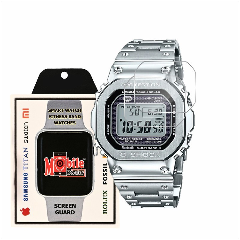 MOBILE DOCTOR Screen Guard for Casio | G-Shock | Origin | GMW-B5000D-1(Pack of 3)