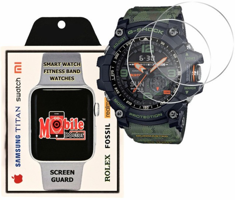 MOBILE DOCTOR Screen Guard for Casio | G-Shock | Limited Model | GG-1000BTN-1A(Pack of 3)
