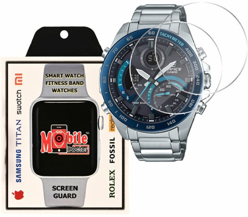 MOBILE DOCTOR Screen Guard for Casio | Edifice | Smartphone Link |ECB-900DB-1B(Pack of 3)