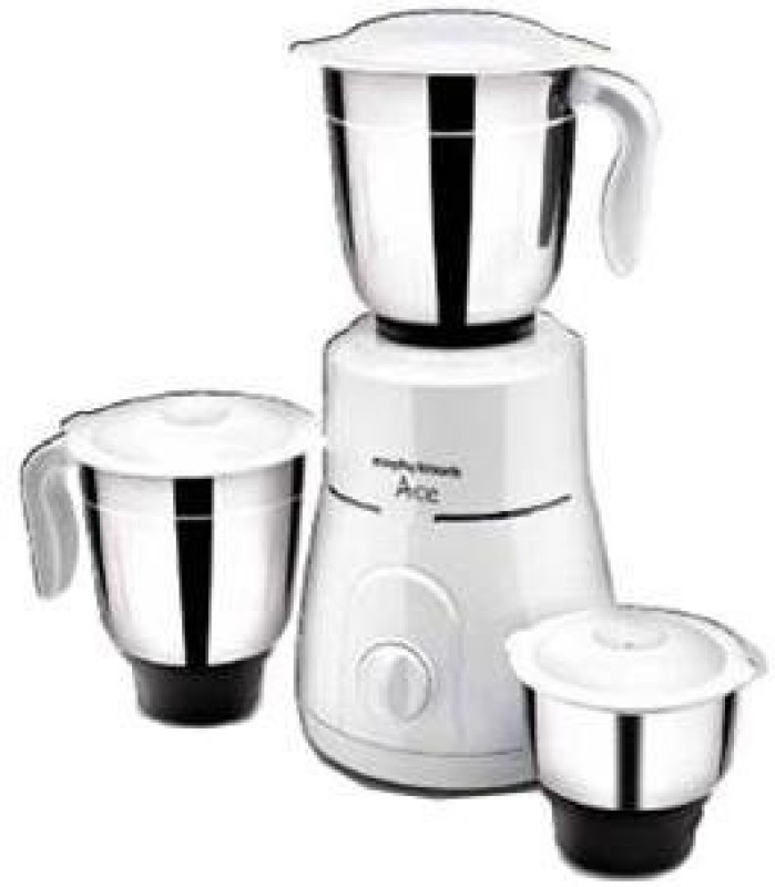 Morphy Richards Ace Pus 750 W Mixer Grinder(White, 3 Jars)