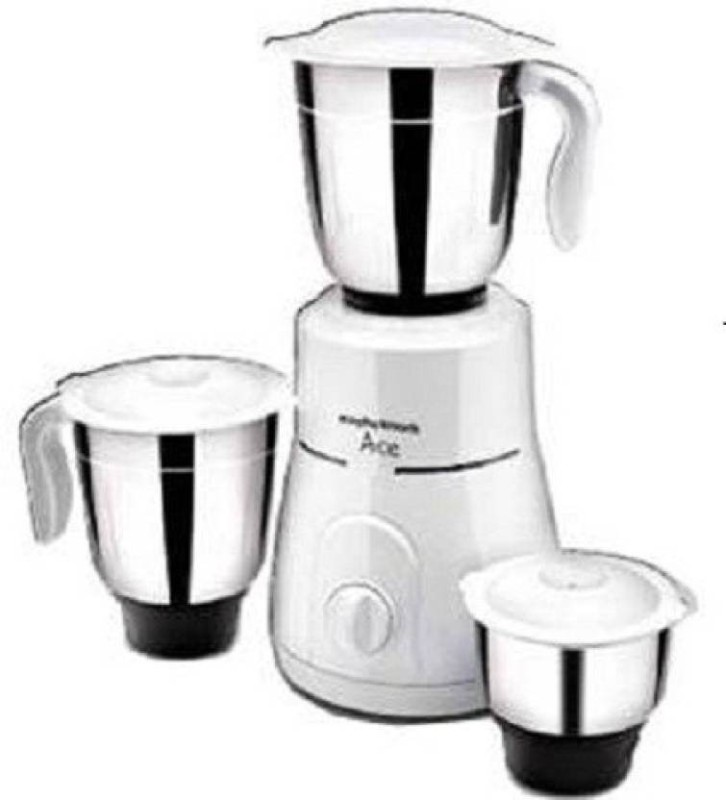 Morphy Richards Ace Plus 750 W Mixer Grinder(White, 3 Jars)