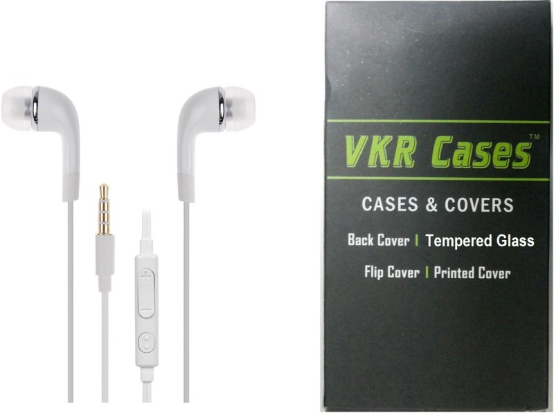 VKR Cases Headset Accessory Combo for Xiaomi Redmi 1s(White, Transparent)