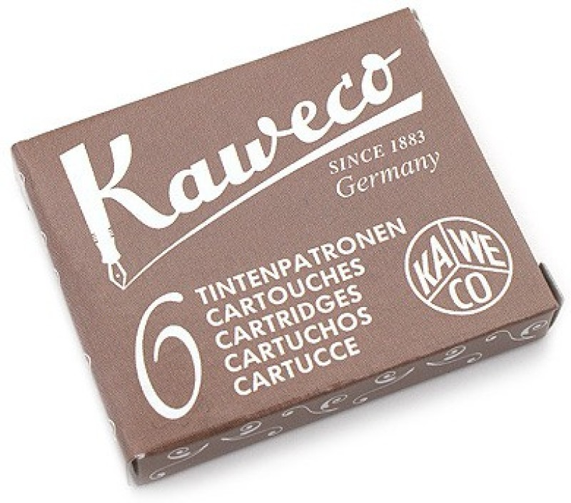 Kaweco Caramel Brown Ink Cartridge(Pack of 6)