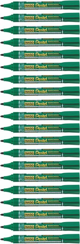 Pentel N 450 X TRA LARGE PERMANENT MARKER Marker Ink(Pack of 20)