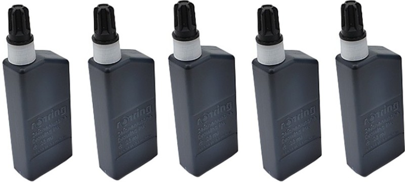 Rotring Drawing Ink Bottle(Pack of 5)