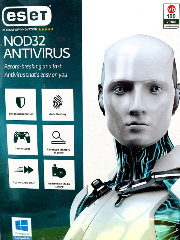ESET Anti-virus 3.0 User 1 Year(Voucher)