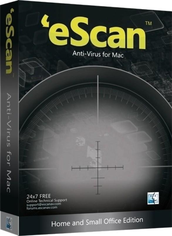 eScan Anti Virus for Mac 1 PC 1 Year(CD/DVD)