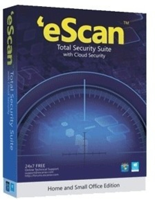 ESCAN Total Security 2.0 User 1 Year(Voucher)