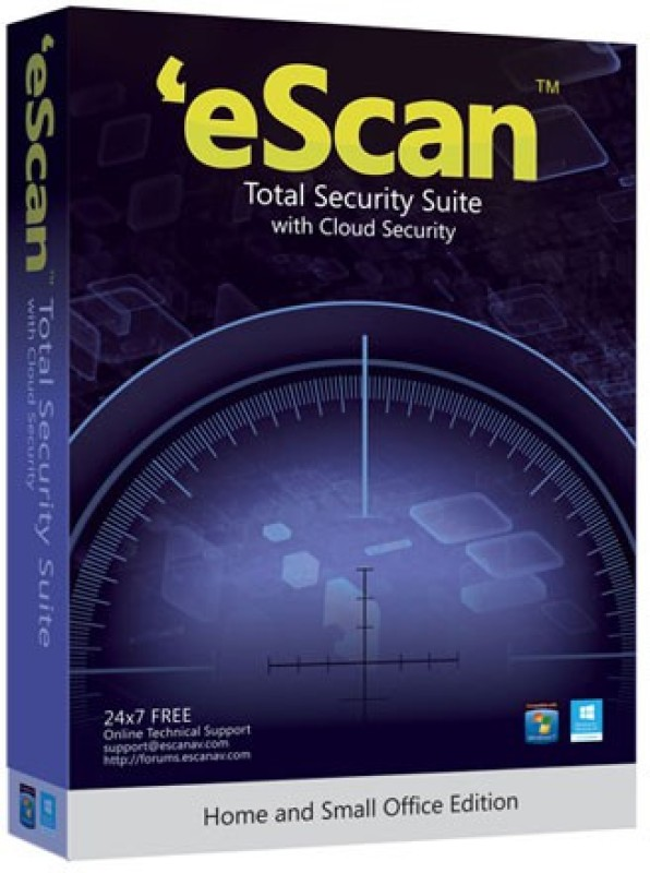 ESCAN Total Security 2.0 User 2 Years(Voucher)