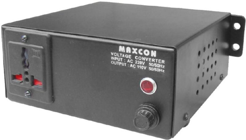 MX 220V to 110V Voltage Converter (1000 Watts) 1  Socket Extension Boards(Black)