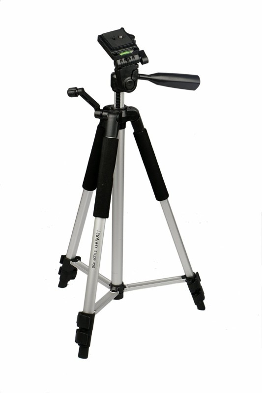 photron stedy450 Tripod(Black, Supports, , Supports, Supports Up to 930 g)