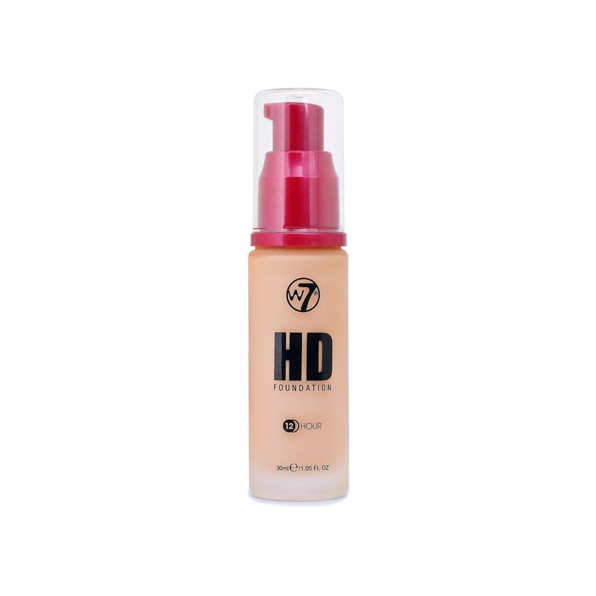 W7 12 Hour HD Foundation - Golden - New Ultra Smooth Full Coverage Formula